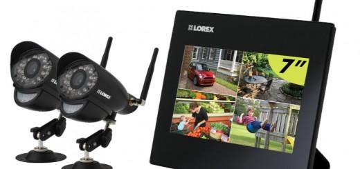 1392758204130 520x245 - Test du système de surveillance à quatre canaux, deux caméras de Lorex