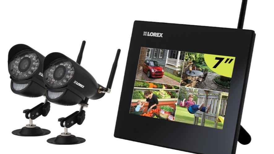 1392758204130 - Test du système de surveillance à quatre canaux, deux caméras de Lorex