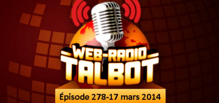 header - Participation à Radio Talbot #278 - Trucs de pile pour iPhone