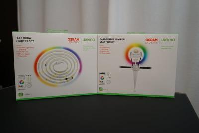 1440986998951 - Bande illuminé et lampes de jardin OSRAM Lightify de Belkin