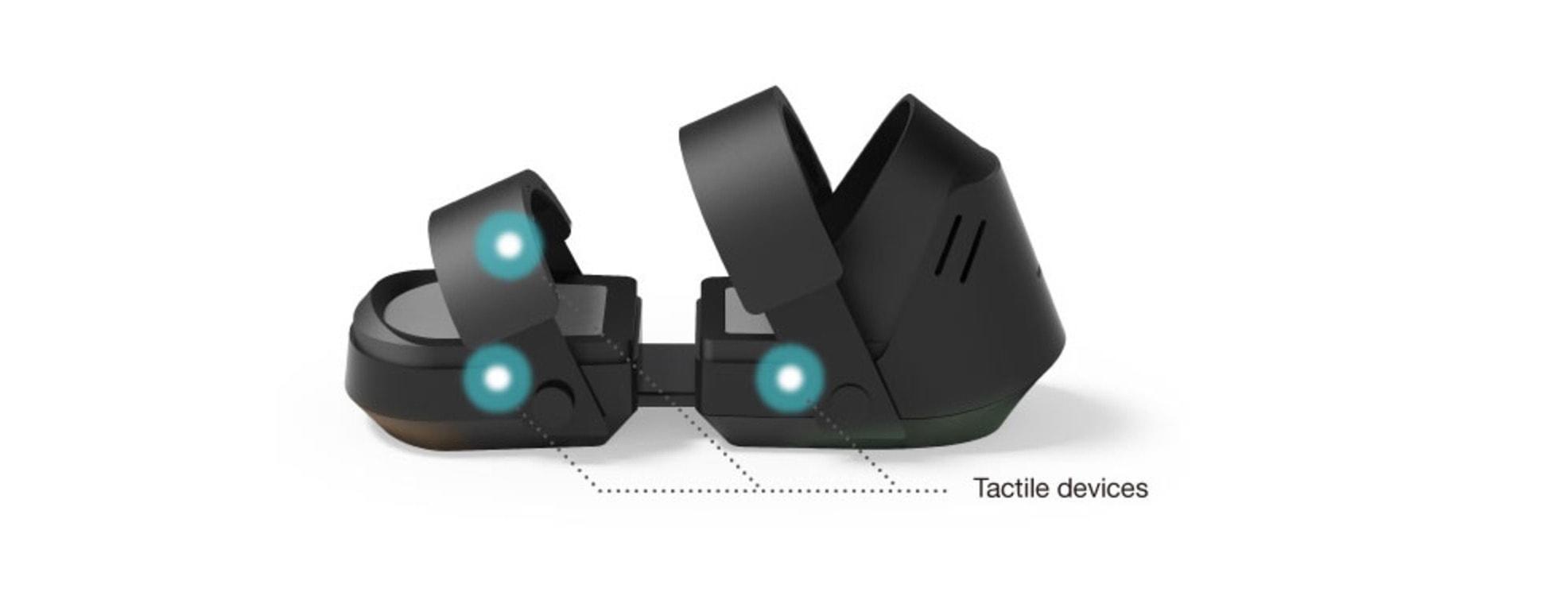 taclim par cevero pieds - La réalité virtuelle jusque dans vos pieds