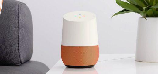 google home 520x245 - Imaginons ensemble le futur des assistants vocaux cylindriques