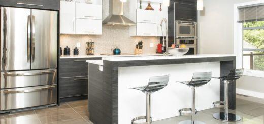 cuisine contemporaine 520x245 - Quelques suggestions de rénovation pour votre cuisine
